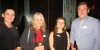 Chireese Barnard, Heather Bint, Flight Centre Orewa; Alexandra Fayan, Aurora Expeditions; Nigel Smith House of Travel at the function in Sofitel Auckland Viaduct Harbour this week