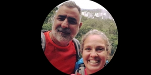 Viva Expeditions guide Franco De Antoni and Melinda Cleaver
