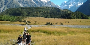 MoaTours' Southern Beauty small group tour stays at the Hermitage in Aoraki / Mt Cook National Park