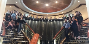 Flight Centre team leaders onboard Radiance of the Seas in Auckland