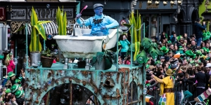 Now is a good time to secure the best seats for the St Patrick's Day parade in Dublin
