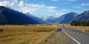 Mount Cook, West Coast of the South Island