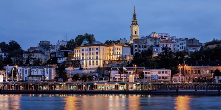 Belgrade is visited by A-ROSA on a number of the company's itineraries