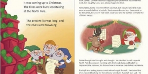 How Santa, Rudolph and Sedrick the Camel Saved Christmas