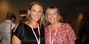 Megan Hornblow, Hawaii Tourism; Adele Barker, Air New Zealand