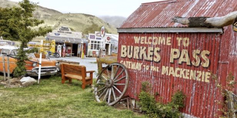 Burkes Pass, a small town with a big story