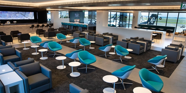 New regional lounge at AKL