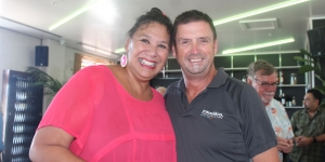 Felicity Bollen, Niue Tourism and Rob Macready, travel&co