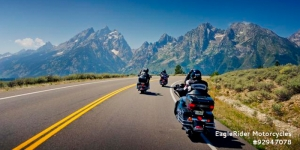 More Kiwis are getting onto Harley-Davidsons to see USA and Australia