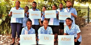 The Tourism Solomon Islands team in Honiara