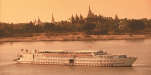 Cruising in Myanmar