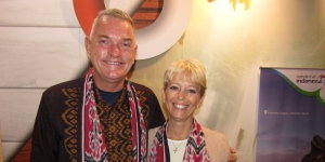 David Roberts, Mahamaya Resort, Gili Meno; and Sara Sanders, Puri Mas Boutique Resort and Spa, Lombok