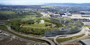 Zurich Airport's new district, The Circle, has opened
