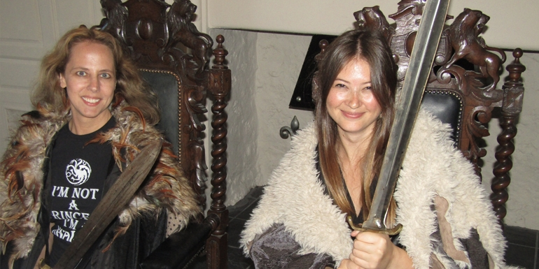 Guests at Ballygally get into character at a Game of Thrones banquet