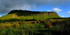 Ben Bulben, the famous writer WB Yeats is buried nearby