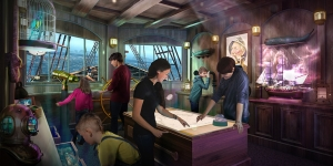 Phantom Bridge, an escape room experience being offered by Princess Cruises' newest vessels